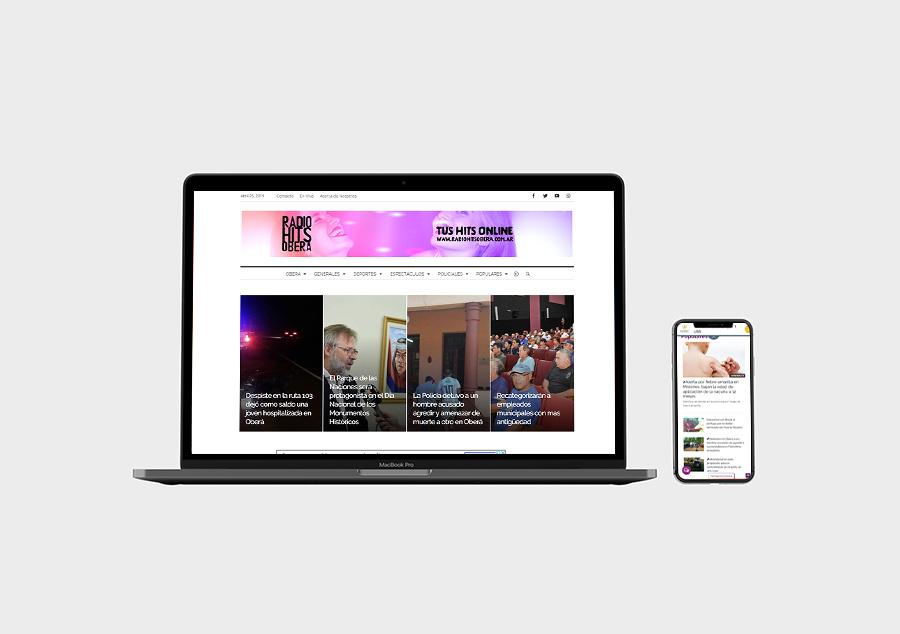 Sitio de Noticias – Radio Hits Oberá