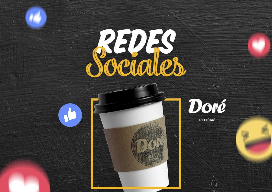 Redes Sociales – Doré Delicias
