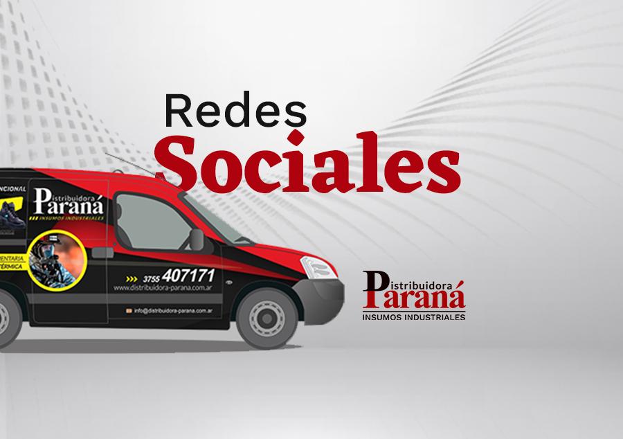 Redes Sociales – Distribuidora Paraná